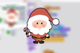 felicitació Nadalenca en Scratch