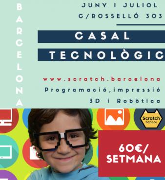 CASAL TECNOLÒGIC SCRATCH BARCELONA