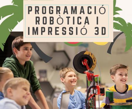 Programació Robòtica Impressió 3D Scratch Barcelona